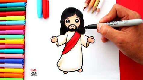 Aprende a dibujar a JESÚS de Nazaret de manera fácil | How ...