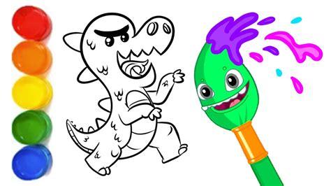 ¡Aprende a dibujar un Dinosaurio con el Equipo Superzoo ...