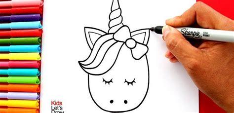 aprende a dibujar un unicornio kawaii facil how to draw a ...