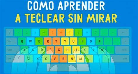 Aprende a escribir sin mirar el teclado con estos 3 ...