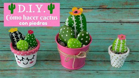 Aprende a hacer originales maceteros de cactus para tu ...