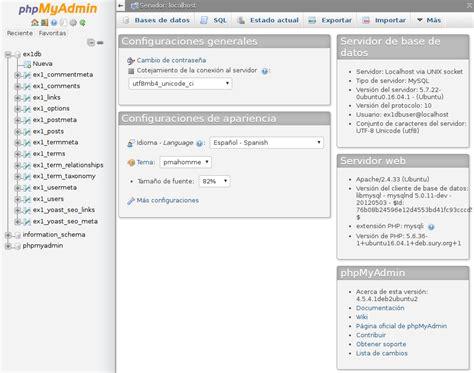 Aprende a instalar phpMyAdmin para tu WordPress en Ubuntu 16