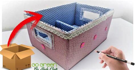 Aprende como convertir una caja de cartón en un lindo ...