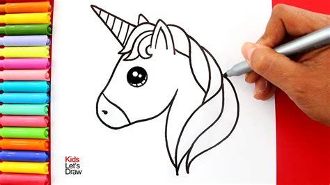 Aprende cómo dibujar un UNICORNIO KAWAII paso a paso   How ...