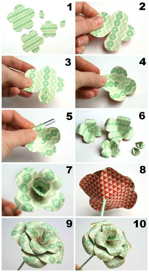 Aprende como hacer rosas de papel. Completo Foto Tutorial ...