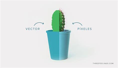 Aprende cuál es la diferencia entre un vector y un píxel