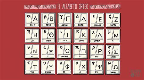 Aprende el alfabeto griego   YouTube