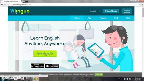 Aprende ingles gratis con paginas web   YouTube