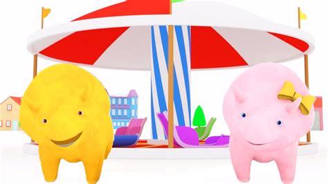 Aprende los colores pintando autos con Dina y Dino los ...