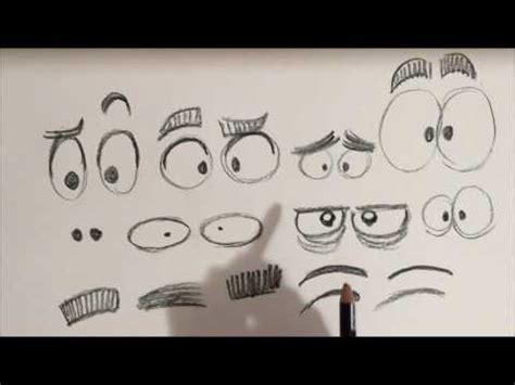 APRENDER A DIBUJAR OJOS CARICATURA   YouTube