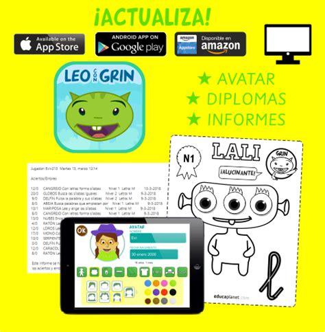 APRENDER A LEER: app Leo con GRin en iOS y Android ...