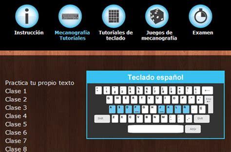 Aprender mecanografía online con Sense Lang   Taringa!