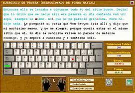 APRENDER MECANOGRAFIA ONLINE GRATIS Y TEST DE VELOCIDAD ...