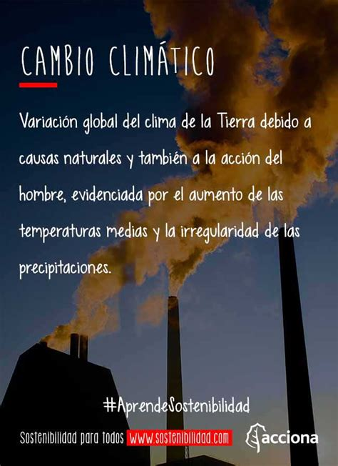 #AprendeSostenibilidad: Cambio climático