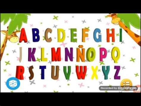 Aprendiendo alfabeto completo   abecedario con letras ...
