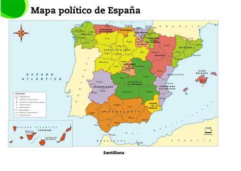APRENDIENDO EN LA ESCUELA PÚBLICA: MAPAS de España. Físico ...