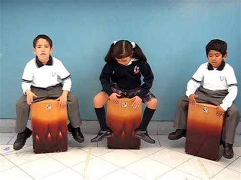 Aprendo a tocar, Cajón Peruano Clases niños Festejo ...