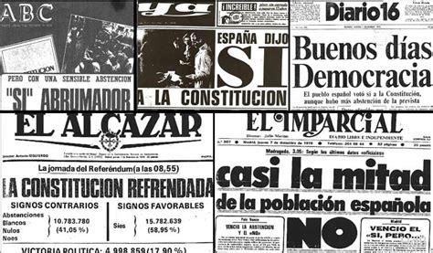 Aprobada en Referendum la nueva Constitución española de ...