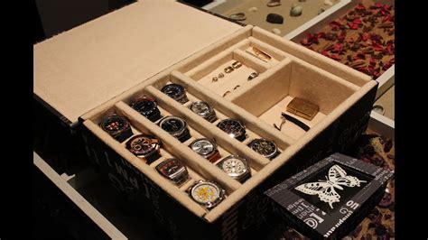 AQL COMO HACER relojero o joyero para relojes.   YouTube