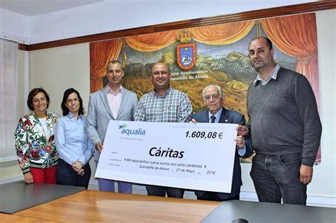 Aqualia colabora con la casa de acogida de Cáritas en el ...