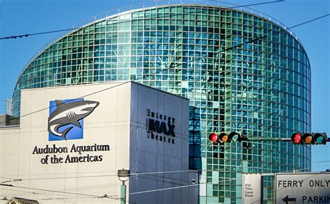Aquarium of Americas and Entergy IMAX Theatre, New Orleans ...