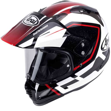 Arai Tour X 4 Detour Enduro Helmet Red   buy cheap FC Moto