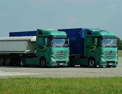 Arbeiten bei Kurz Transporte   Kurz Transporte