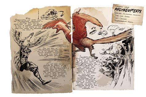 Archaeopteryx   Official ARK: Survival Evolved Wiki