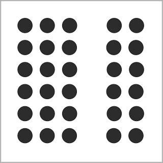 Archivo:Gestalt proximidad.png   Wikipedia, la ...