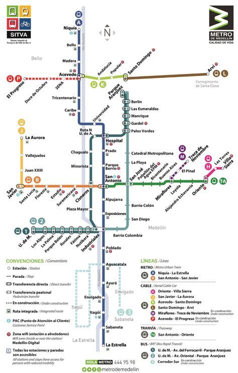 Archivo:Mapa Metro de Medellín.png   Wikipedia, la ...