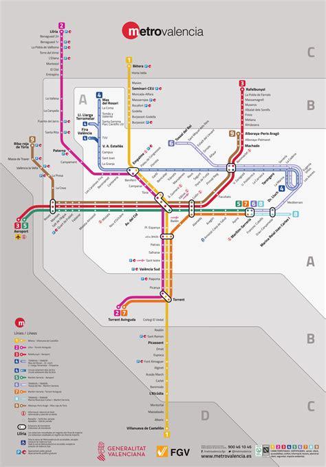 Archivo:Mapa metrovalencia.svg   Wikipedia, la ...