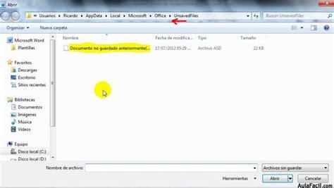 Archivo opciones guardar   Word 2010 Avanzado