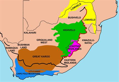 Archivo:Regions of South Africa 1.png   Wikipedia, la ...