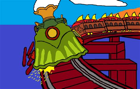 Archivo:Runaway dinosaur train by jessethedizzydragon ...