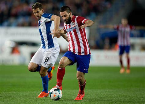 Arda Turan in Club Atletico de Madrid and RCD Espanyol ...