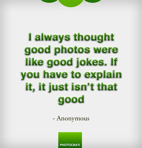 Are Good Photos Like Good Jokes?