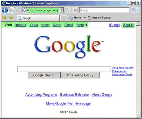 Are You Tired of the Google.com Domain?   Search Engine ...