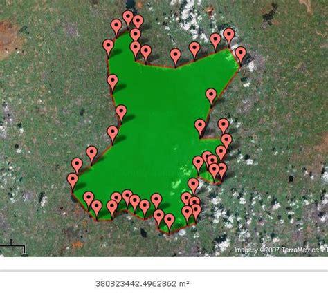 Area Calculator Using Maps