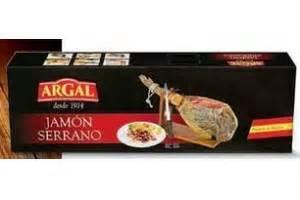 Argal Jamon Serrano  7,3 kilo  €79,00   Beste.nl