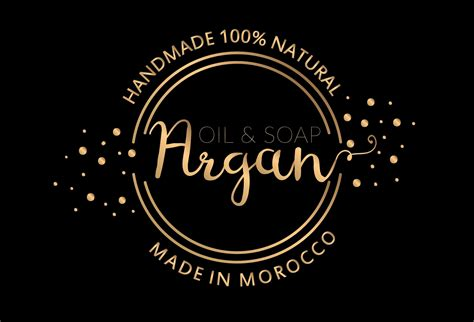 argan oil logo brand | Argan oil skin benefits, Argan oil ...