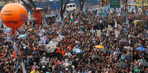 Argentina bids farewell to a president   Photos   The Big ...