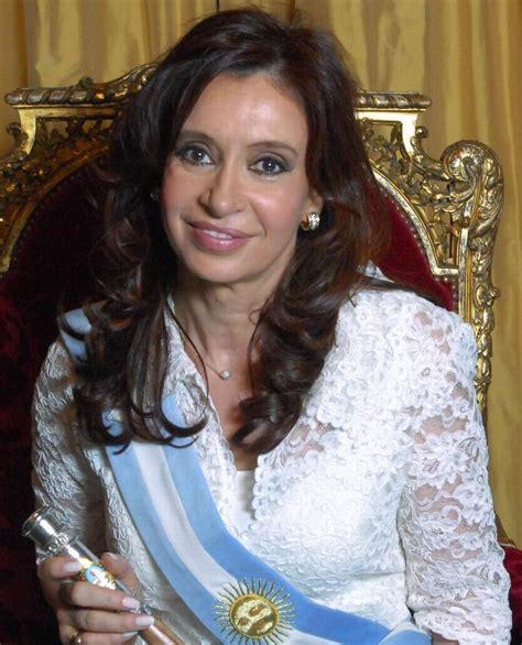 Argentina, la presidentessa Cristina Fernandez de Kirchner ...
