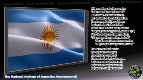 Argentina National Anthem  Himno Nacional Argentino ...