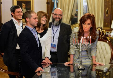 Argentina: President  Adopts  Young Man In Centuries Old ...