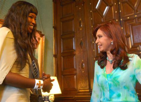 Argentina President Cristina Fernandez Celebrates Ten Year ...