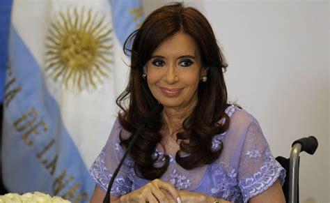 Argentina President Cristina Fernandez Makes Diplomatic ...