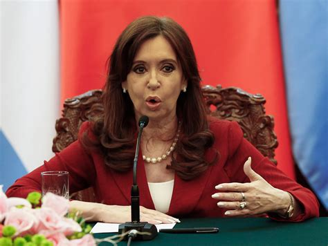Argentina president makes racist joke in China   Business ...