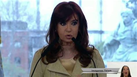 Argentina: Presidenta Cristina Fernández anuncia aumento ...