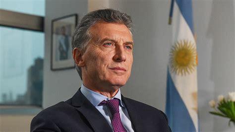 Argentina: Presidente Macri anuncia descenso de los ...