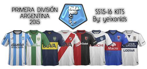 Argentina   Primera Division SS 2016 New!  29/09/15